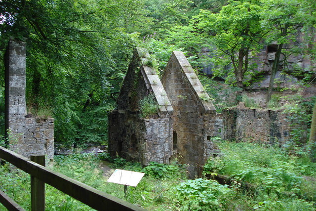 Old Gunpowder Mill in Roslin Glen