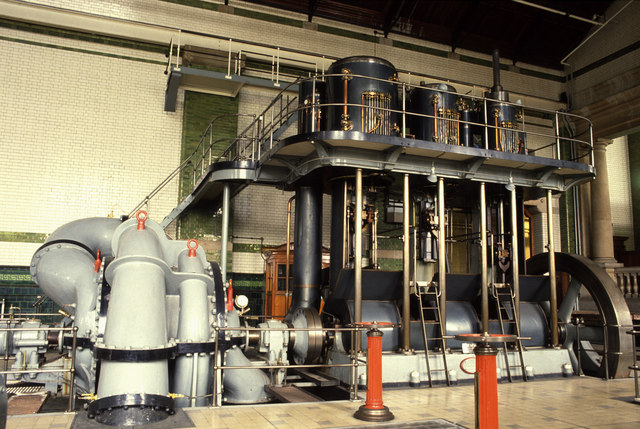 Pumping engine Walton Pumping Station