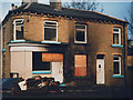 SE1020 : Burnt-out houses, Bedford Street by Stephen Craven