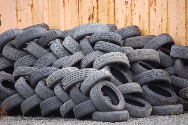 recycle old tyres, changing the world