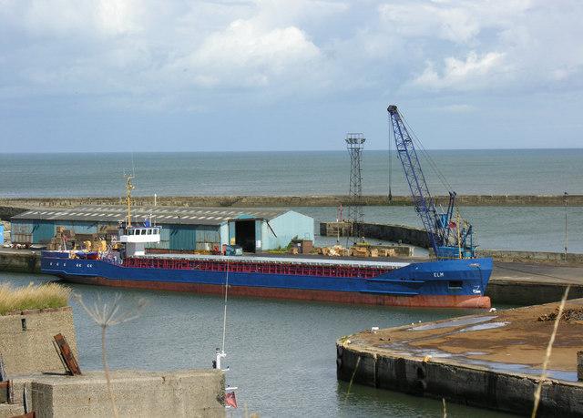 Seaham Harbour outer quay