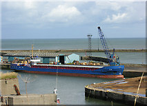 NZ4349 : Seaham Harbour outer quay by George Robinson
