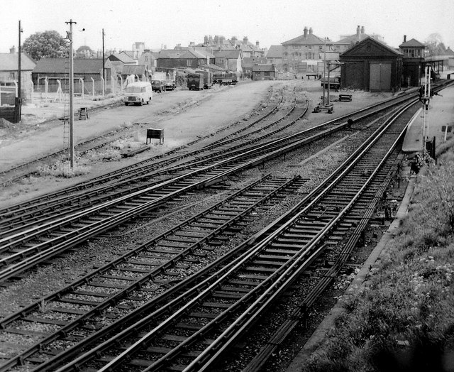 Wallington Station Goods Yard