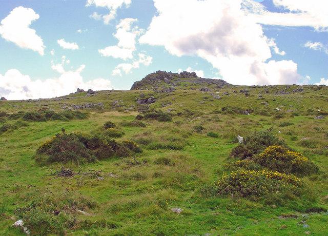 Moorland: view towards Carnalw