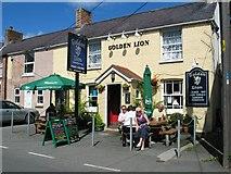 SJ1065 : Golden Lion Inn Llandyrnog by Johnny Durnan