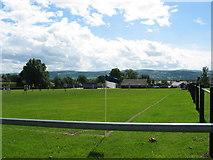 SJ1065 : Llandyrnog Football Ground by Johnny Durnan