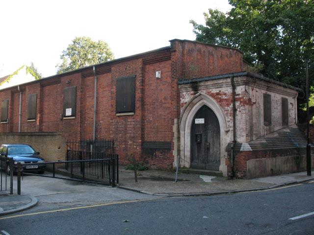 Former All Hallows Church, Copperfield Street