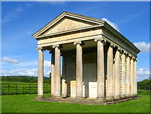 ST2534 : Temple of Harmony, Goathurst, Somerset by Ken Grainger