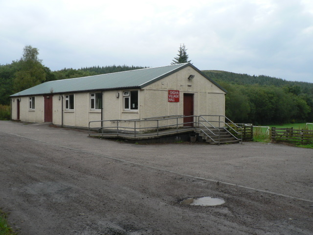 Isle of Gigha: village hall