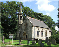 SE7051 : St Paul's Church Kexby by Keith Laverack