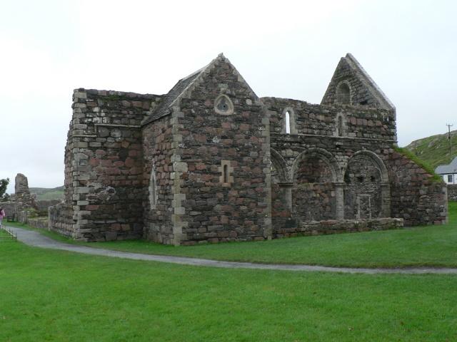 Isle of Iona: the nunnery church