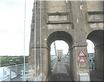 SH5571 : Crossing into Anglesey by Eric Jones