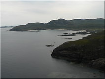 NM4167 : Ardnamurchan: view east from the tower by Chris Downer