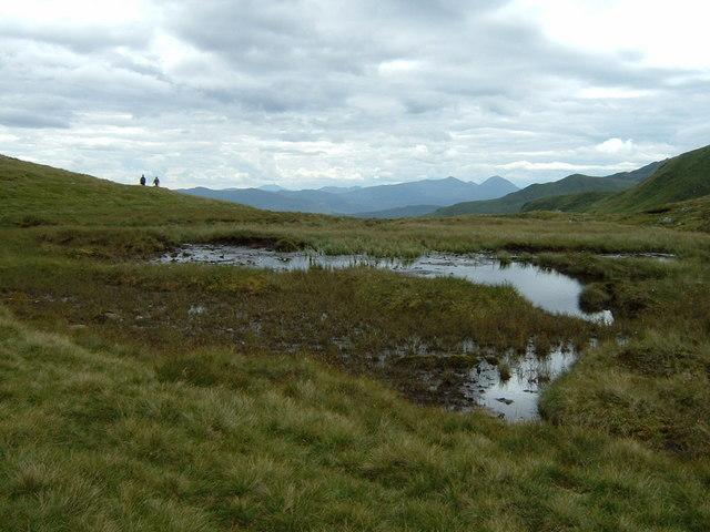Col west of Beinn Ghlas