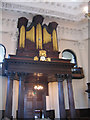 TQ3777 : Organ of St Paul's Deptford by Stephen Craven