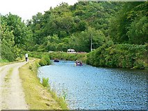 NR7992 : East end of Bellanoch Basin, Crinan Canal by Rich Tea