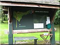 SN0204 : Information board at Upton Castle by Shaun Butler