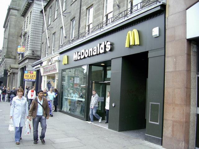 McDonald's, 137 Princes Street, Edinburgh