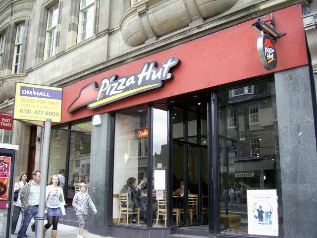 Pizza Hut Frederick Street Edinburgh Ian Thomson