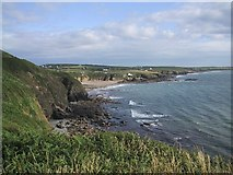 SH2989 : Coast North of Porth Swtan by Sarah Charlesworth