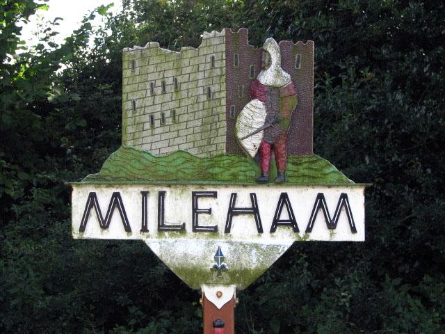 Village sign - detail