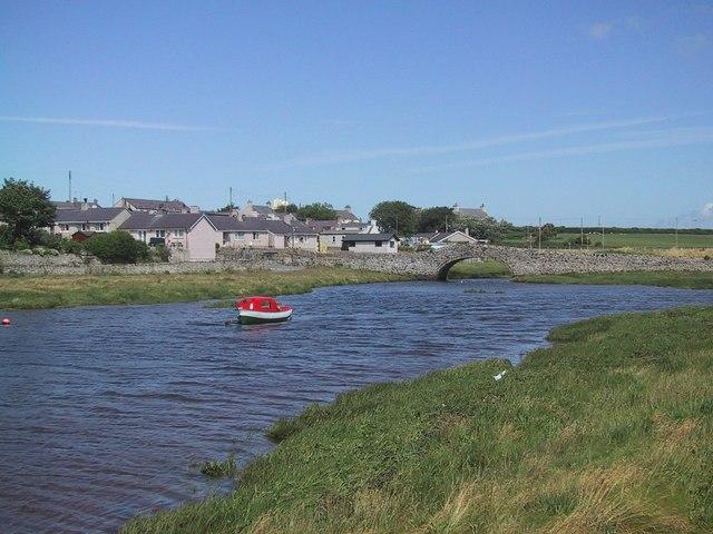 Aberffraw across the River