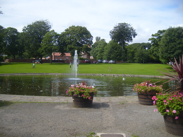 Norton Duck Pond and Fountain