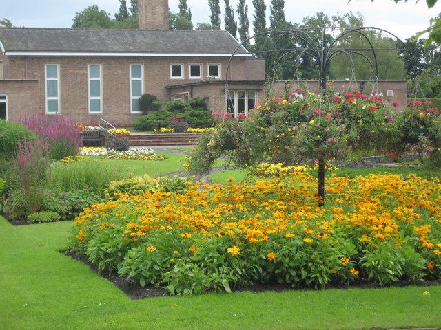 Gardens at the Carlisle Crematorium