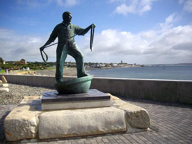 Fishermen memorial, Newlyn