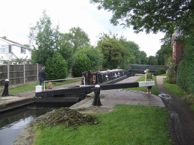 Rushall Canal - Lock No 3