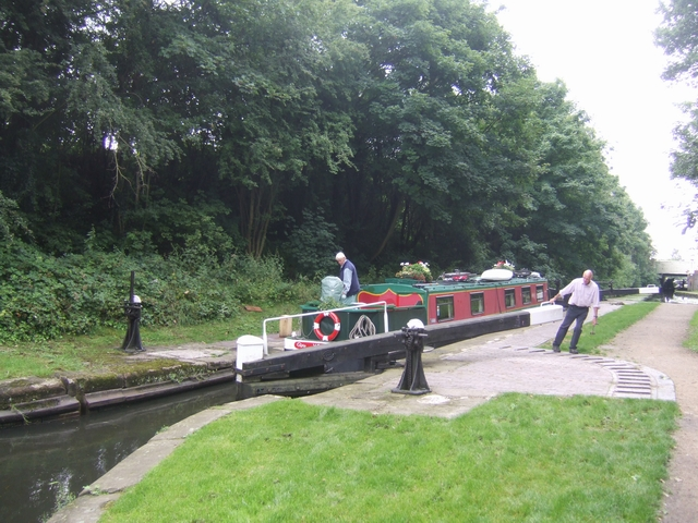 Rushall Canal - Lock No 4