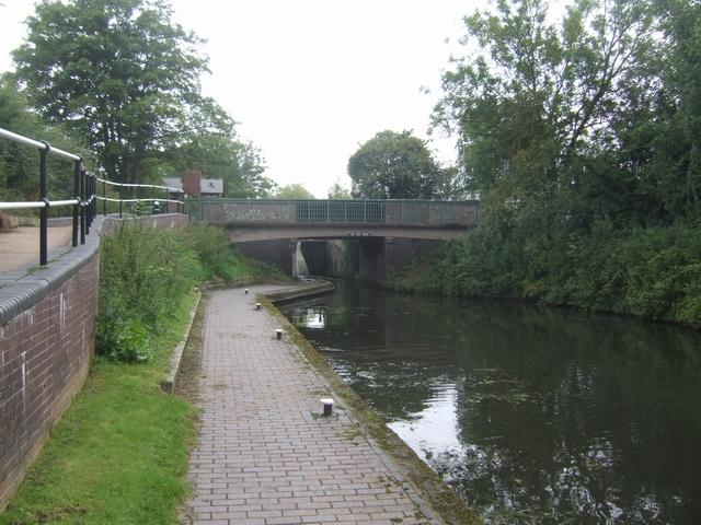 Rushall Canal - Five Ways Bridge
