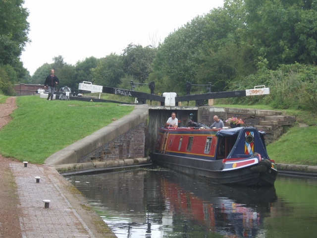 Rushall Canal - Lock No 9