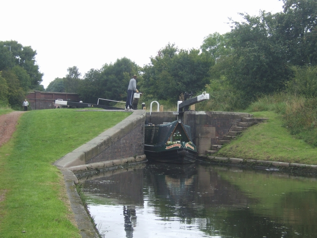 Rushall Canal - Lock No 8