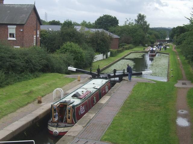 Rushall Canal - Lock No 5