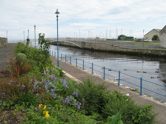 Mouth of the Glenarm River