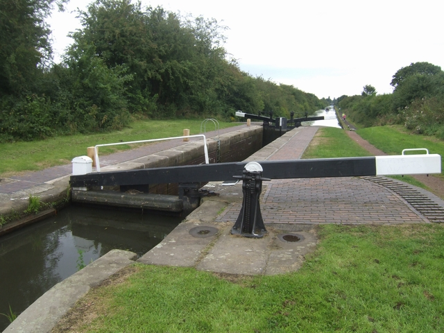 Rushall Canal - Lock No 2