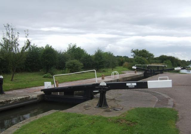Rushall Canal - Lock No 1