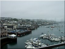 SW8132 : Falmouth Quays from the National Maritime Museum by Simon Huguet