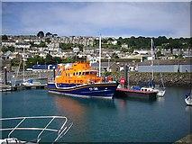 SW4628 : Newlyn lifeboat by Bob Embleton