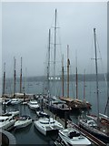 SW8132 : Schooners at Falmouth by Simon Huguet