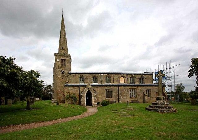 St Michael & All Angels, Hamstall Ridware, Staffs