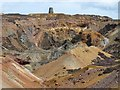 SH4490 : The Great Opencast, Parys Mountain by Robin Drayton