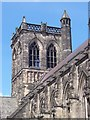 NS4863 : Paisley Abbey Bell Tower from Cotton Street by Vince Madden