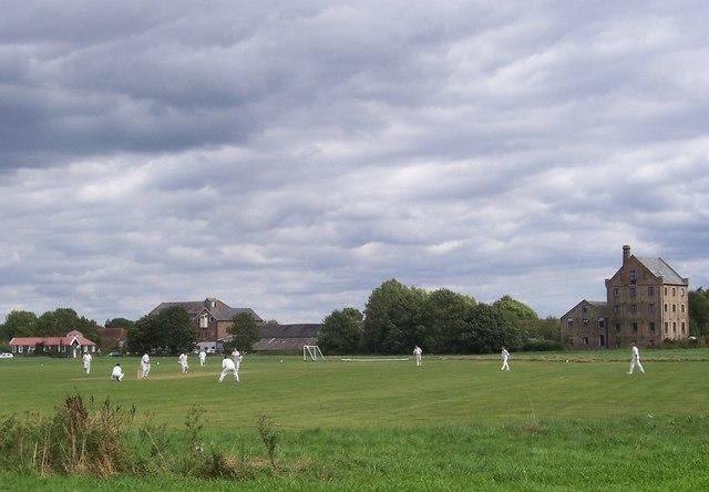 Mellis cricket field