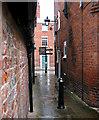 SJ4912 : Alley near Dogpole House by Dave Croker