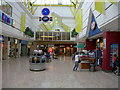TQ7567 : Inside the Pentagon Centre, Chatham by Danny P Robinson