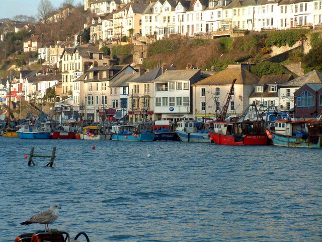 East Looe from West Looe quay