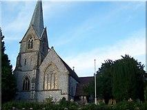 SU1826 : St Mary's Church, Alderbury by Maigheach-gheal