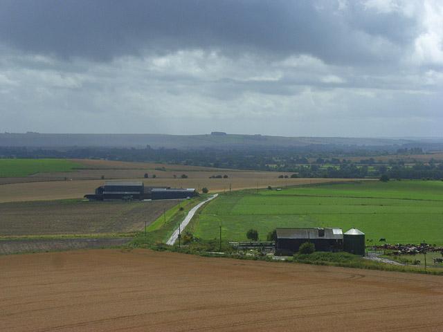 Farm buildings, Bishops Cannings